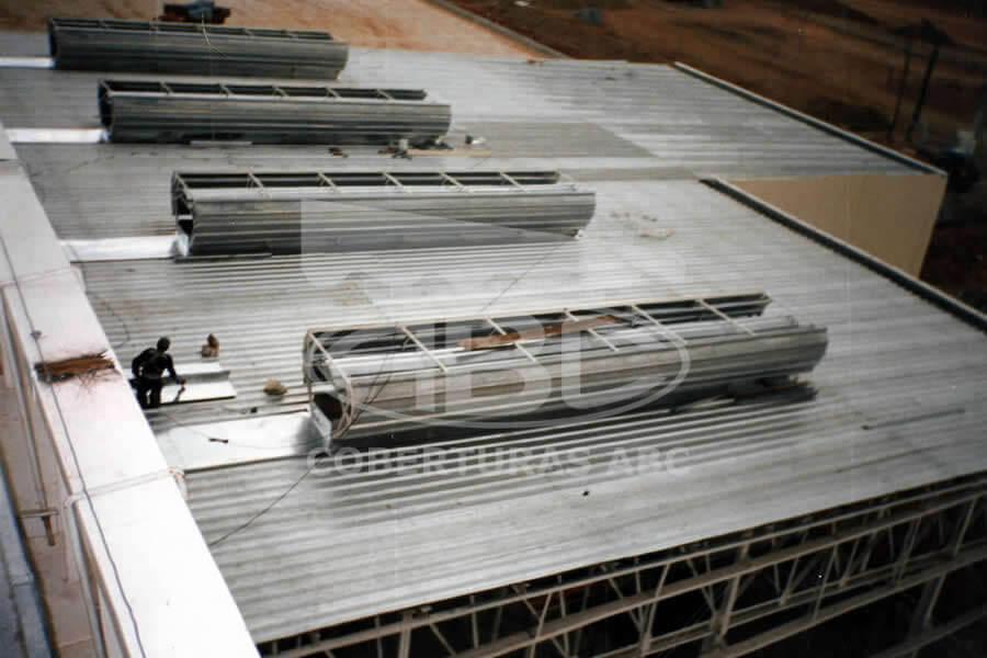Reforma e Manutenção de Telhados Industriais - 4