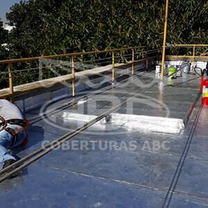Impermeabilização de Telhados Industriais - 1