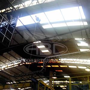 Manutenção de Telhados Industriais - 2