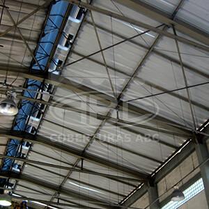Reforma de Telhados Industriais - 1