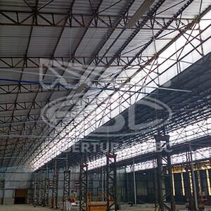 Reforma de Telhados Industriais - 4