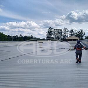 Reforma e Manutenção de Telhados Industriais - 2