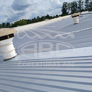 Telhados Metálicos Para Indústrias - 1