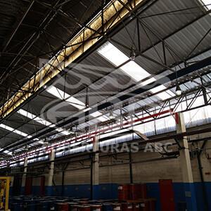 Telhados Metálicos Para Indústrias - 2