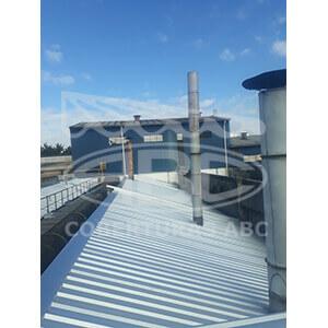 Telhados Metálicos Para Indústrias - 3