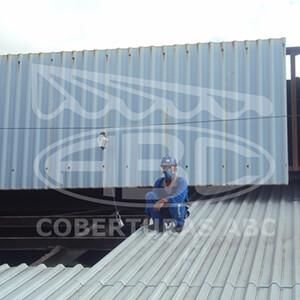 Telhados Metálicos Para Indústrias - 4