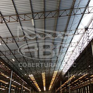 Empresa de Cobertura Metálica para Galpão Industrial