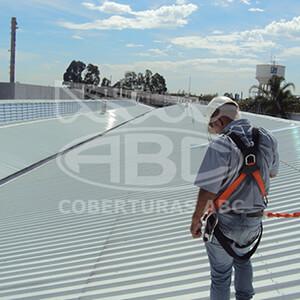 Reforma de Telhados Metálicos